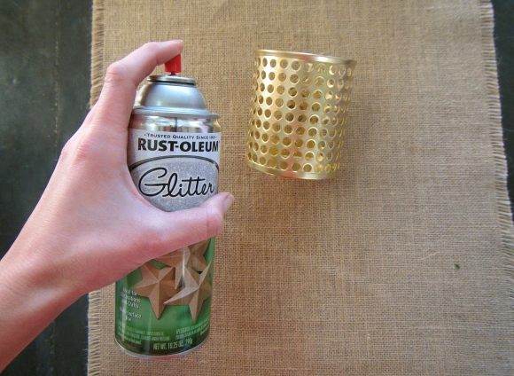 Glam, Gold & Glitter | Saturday DIY